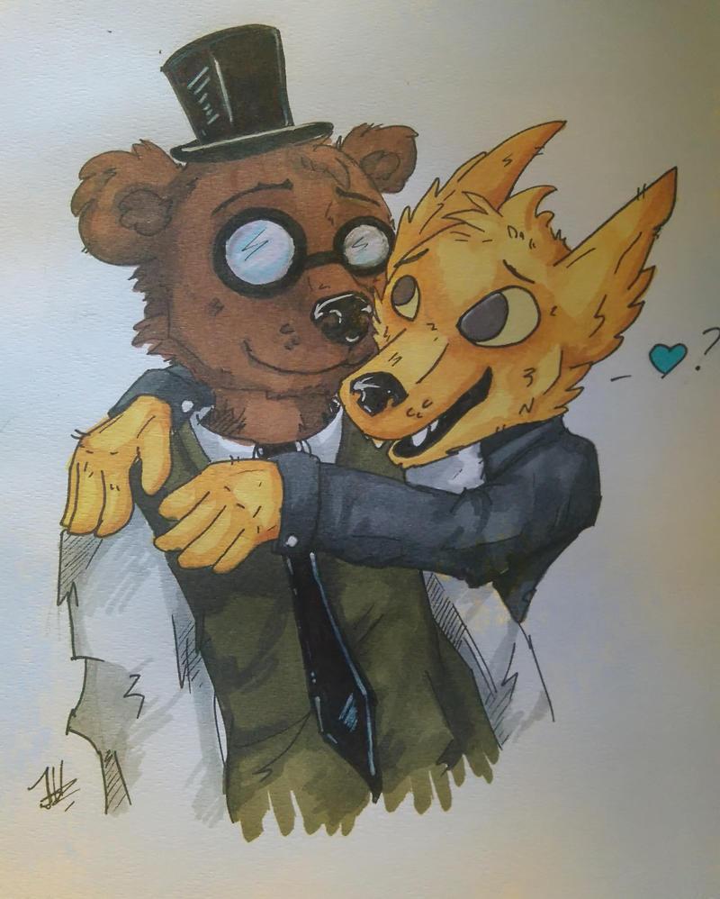 Gregg and Angus by JeffyHyena