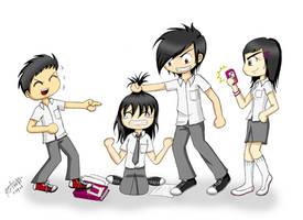 Bullying by jazzysuika