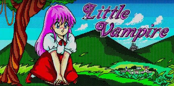 Little Vampire (PC-88) Visual Novel / RPG