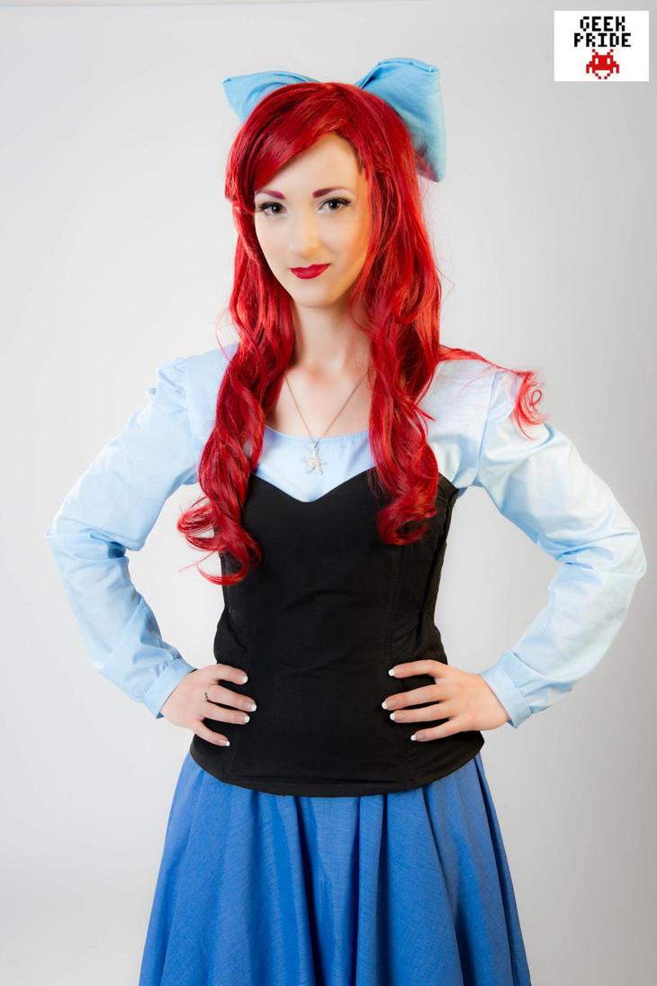 Ariel blue dress cheap