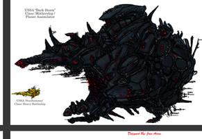 Starship: Darkstorm by carnivore-art