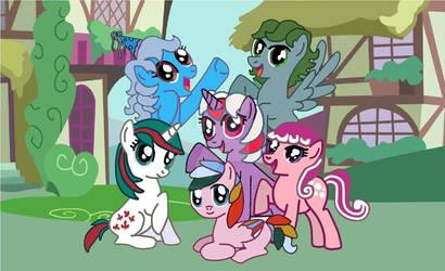 G1 pony G4 version