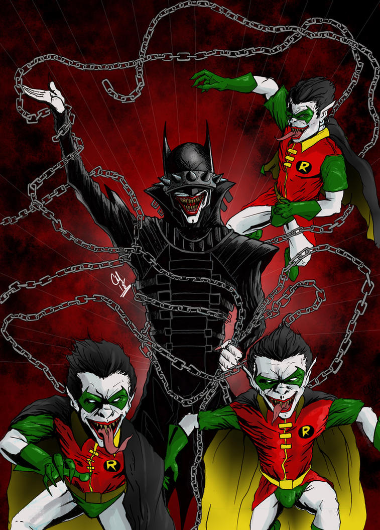 The Batman Who Laughs by curtismartworks on DeviantArt