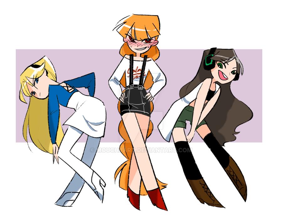wearing girls clothes by MOUCHbart