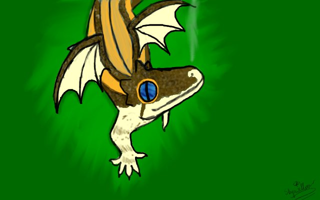 Digital dragon by Bane-Skyewillow