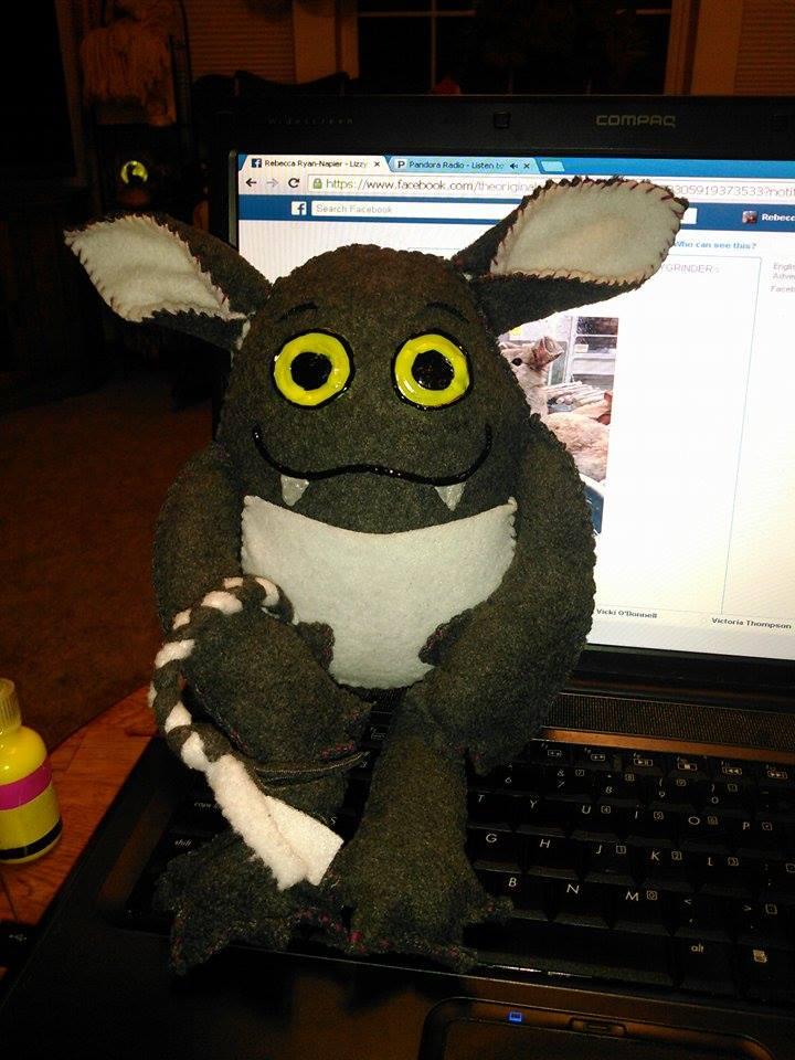 Borken, the pebble troll by Bane-Skyewillow