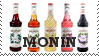 Monin Flavour Syrups by lollirotfest