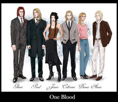 One Blood - Characters by MayYeo