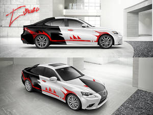 Thrasher Lexus IS 2014 Design by Tibneo