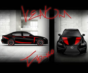 Venom Lexus IS 14 Design