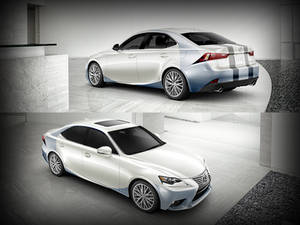 Blue Razor 2014 Lexus IS Design