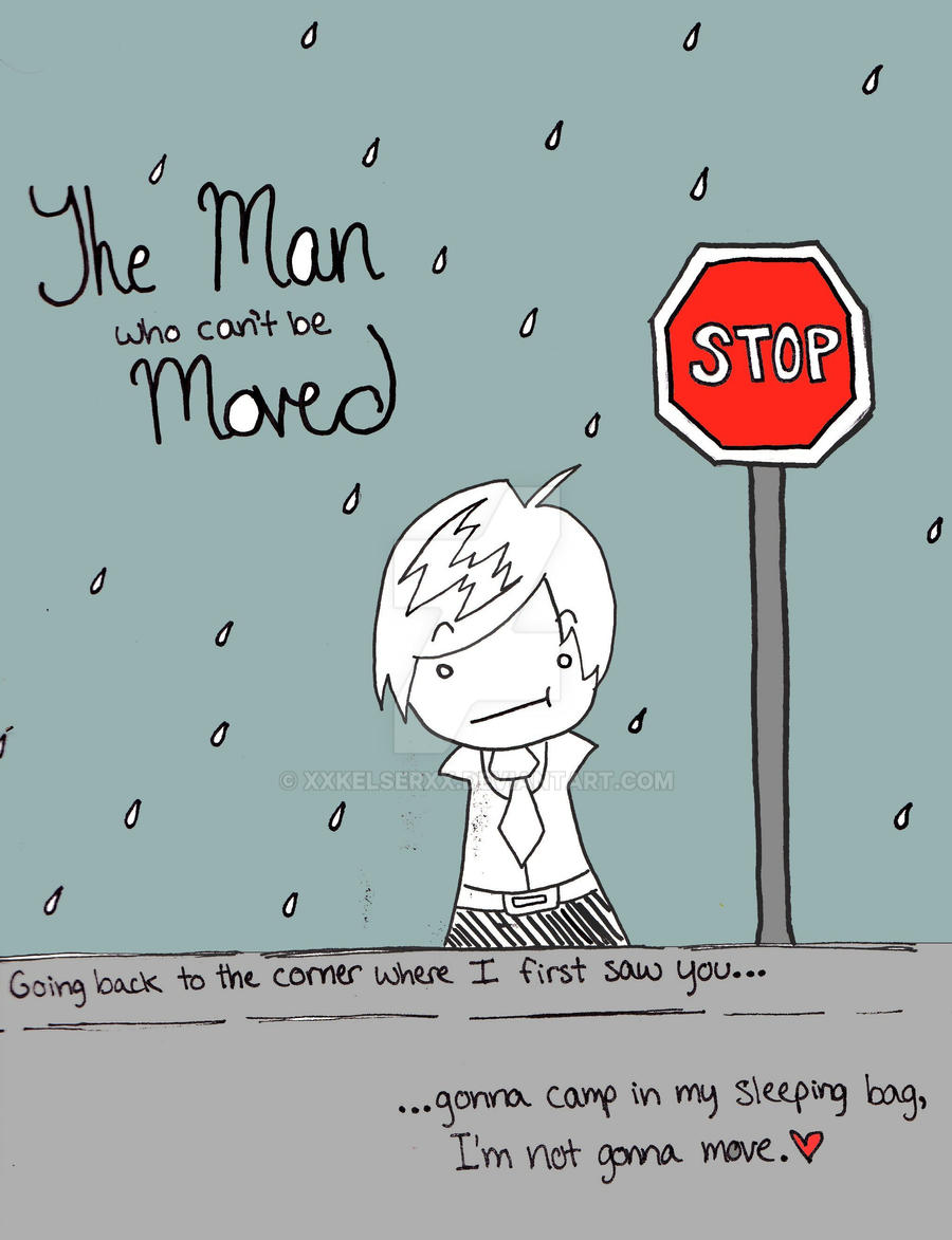 Man who can t be moved lyrics