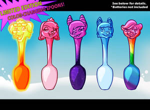 COLOR-CHANGING SPOONS! GET YOURS TODAY!