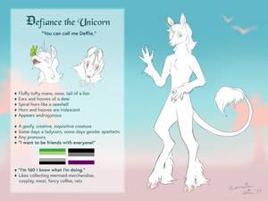Defiance the Unicorn