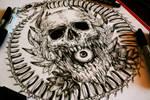 Uroboros- Commission tattoo design