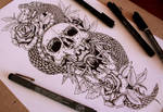Forearm tattoo desing  ::SOLD:::