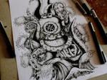 Diver (tattoo design)