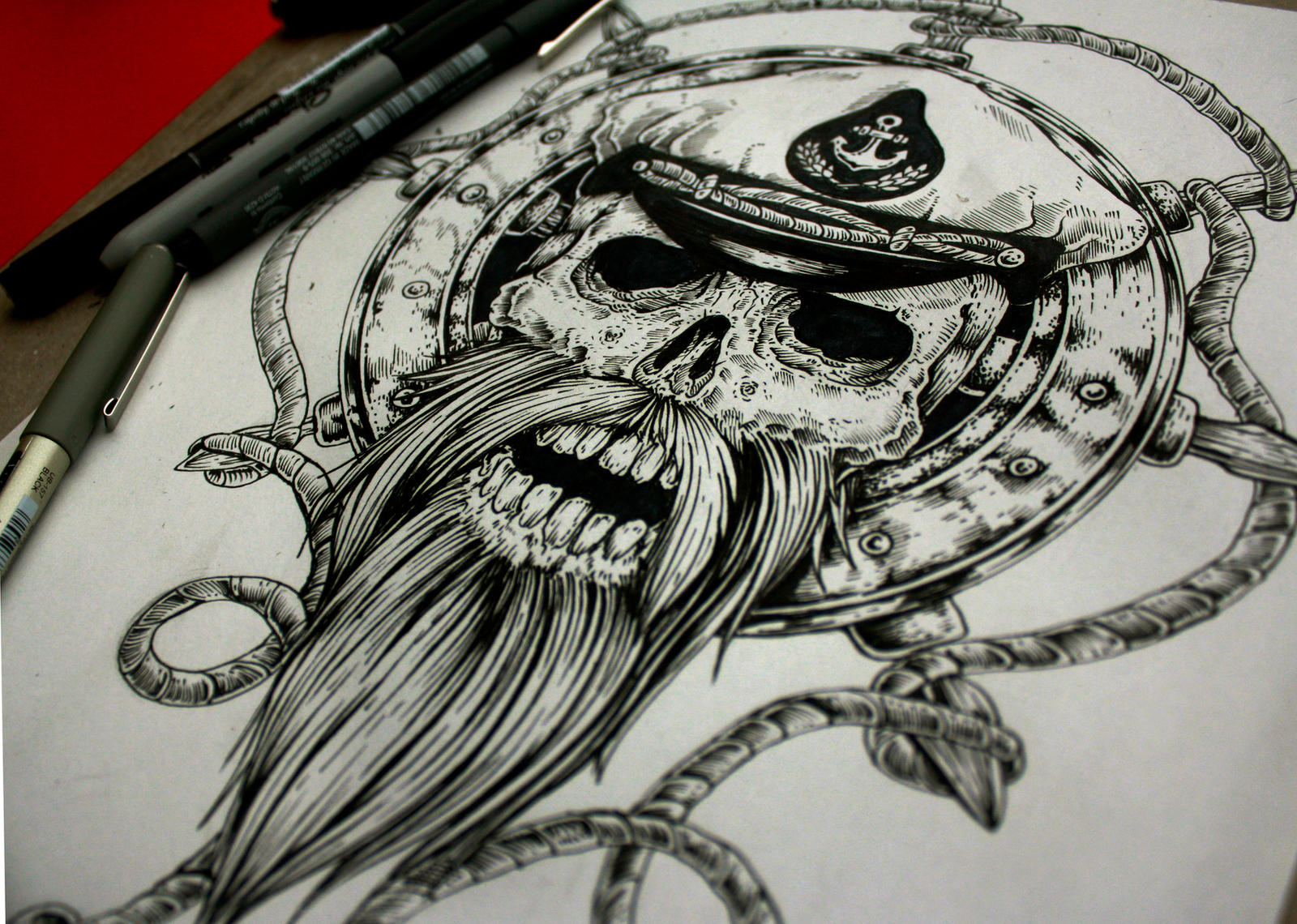 byra666 943 82 Sailor Tattoo Desing Commission   SOLD    by EG TheFreak. skulltattoo   Explore skulltattoo on DeviantArt