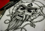 Sailor Tattoo Desing-Commission   ::SOLD:::