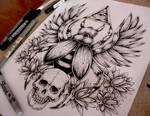 Scarab Tattoo Commission