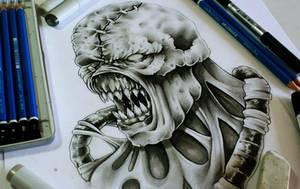 Pencil practice - Nemesis