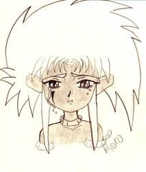Sad Ryoko by CreeFler
