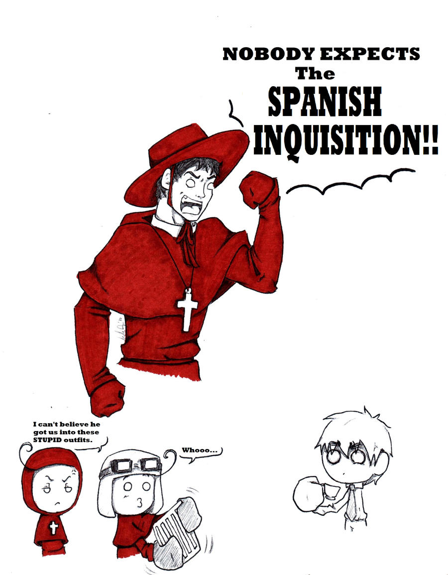 essay on spanish inquisition Essay the spanish inquisition - political power acts as a foundation for society through persuasion this influential ability controls the thoughts and actions of.