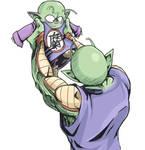 Piccolo Daimao and Piccolo Jr