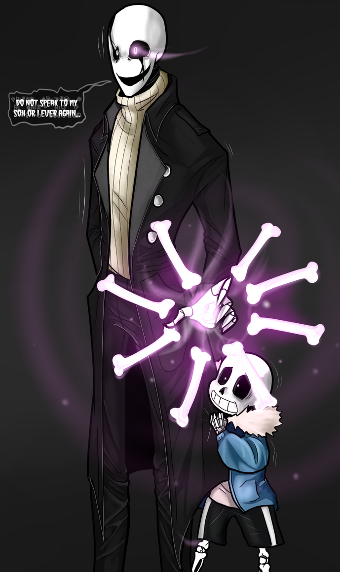 Undertale - Don't touch Sansy. by TheBombDiggity666