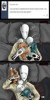 Co-sleeping struggles.