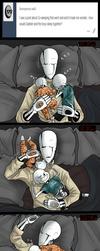 Co-sleeping struggles. by TheBombDiggity666
