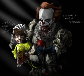 IT 2017- Join the clown, Billy.
