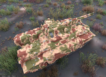Chasovoy Medium Tank - Rotary AC