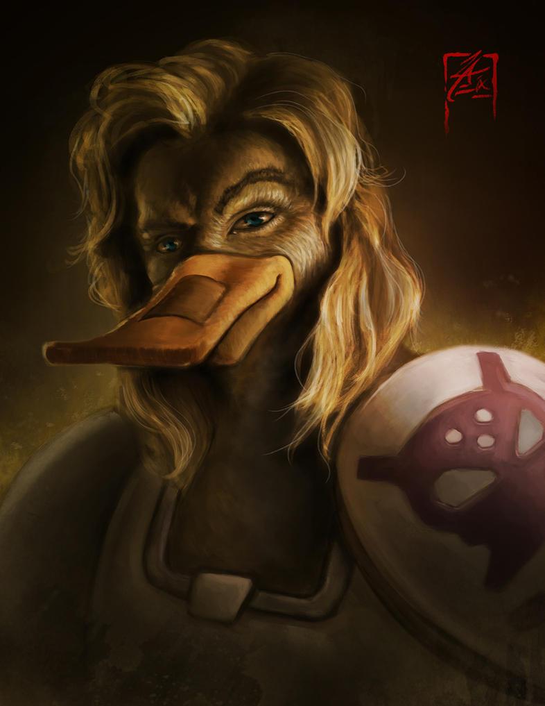 Nosedive - Mighty Ducks Fan Art by zae1X