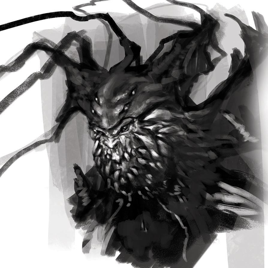 Creature Concept Design by zae1X