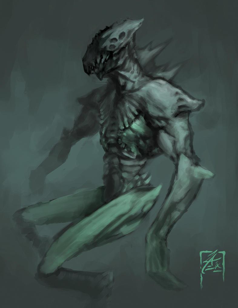 Alien Concept Art by zae1X