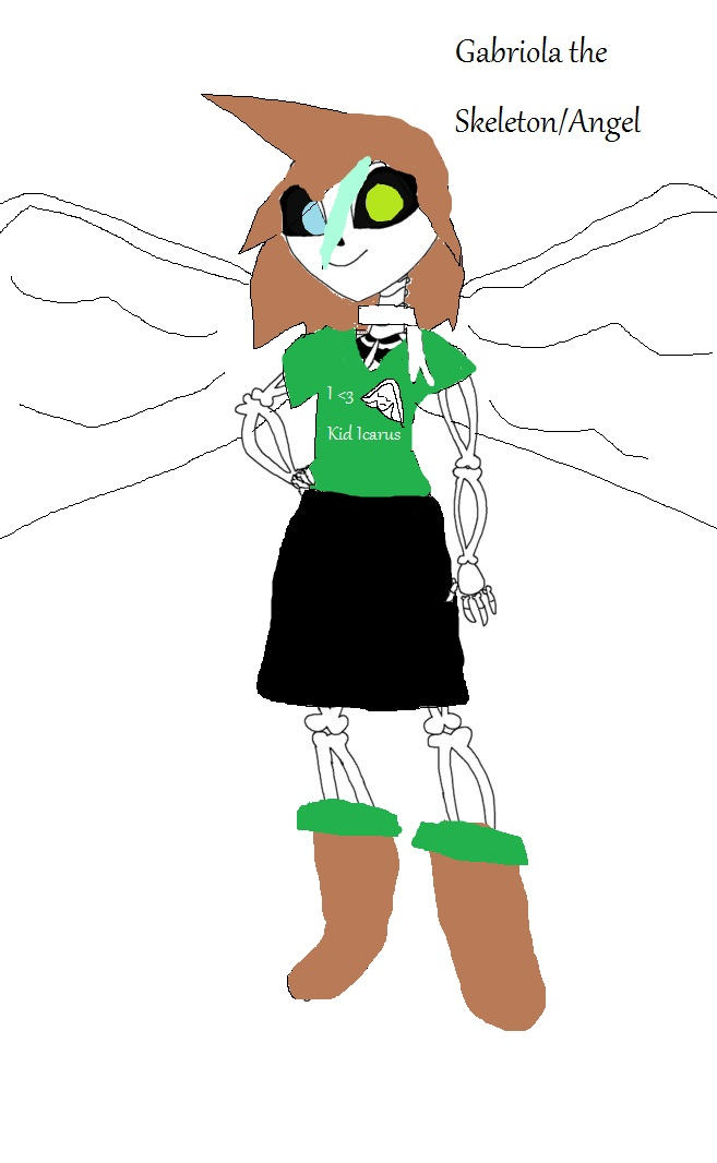 undertale oc based off of gabby by shadow x x x on deviantart