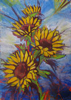 sunflowers by milanglo