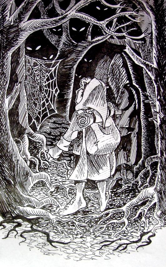 Night in Mirkwood by eaneli
