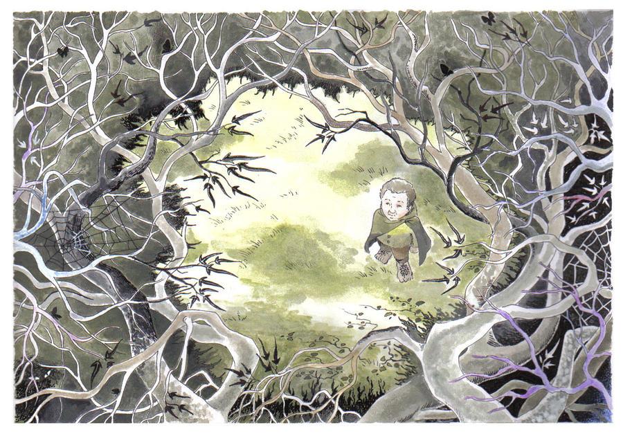 Shadow of Mirkwood by eaneli