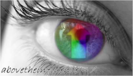 Above the Influence -- Eye by smalltowndreamer