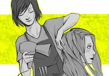 comic style test #3 by dead-viktor