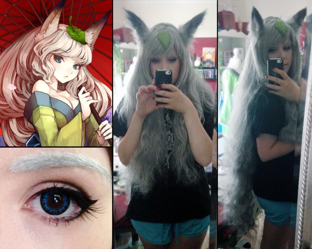 Yuzuruha [Oboro Muramasa] Make up and Wig test by Sayuri-Shinichi