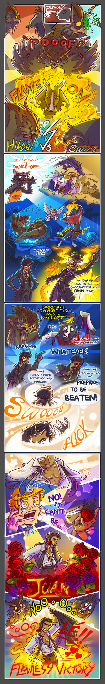 Comic 2016 - Playing with the Big Boys Now by Sleyf