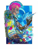 Neon God by Sleyf