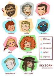 Foundling / Skyborn Characters (so far)