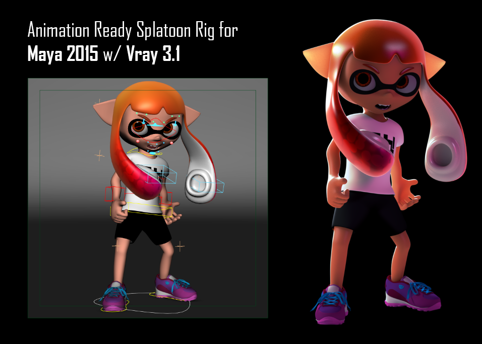 how to change inkling look