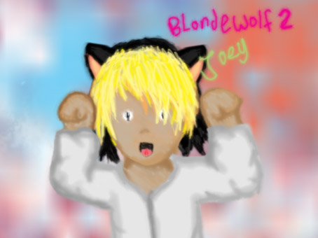 Joey,  Blondewolf2 by xx-chii-goddess-xx