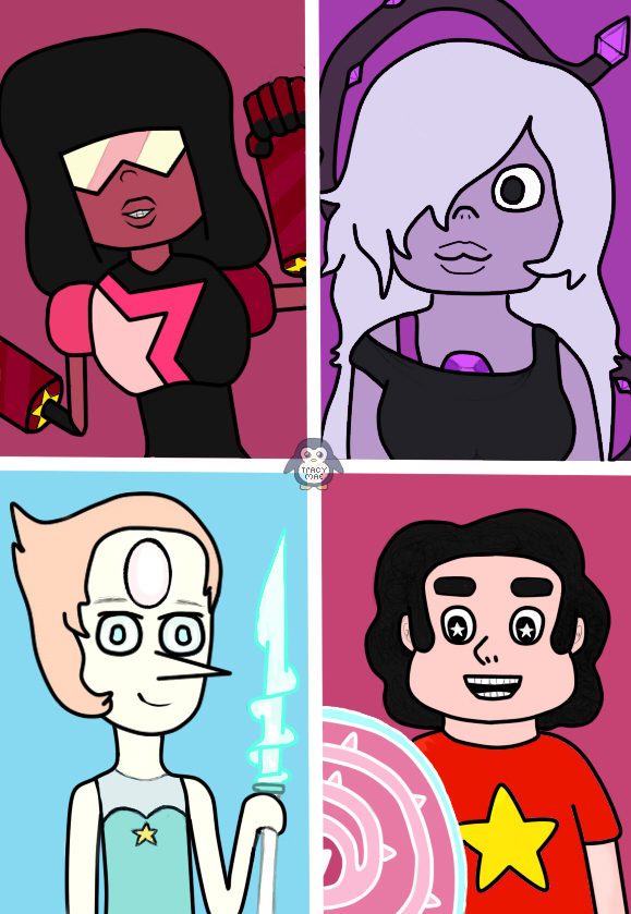 We are the Crystal Gems,We'll always save the day. by xx-chii-goddess-xx