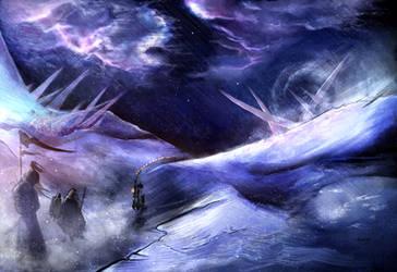 Grinding Ice by Dalandel